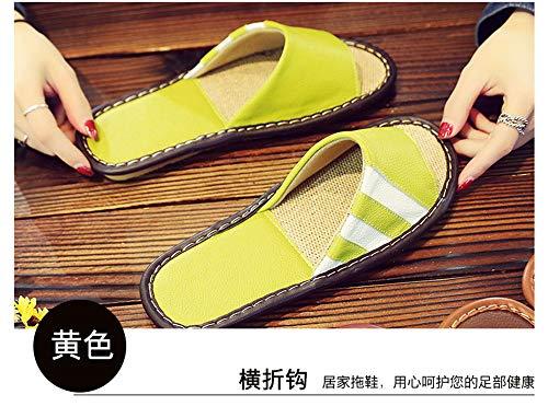 exterior Yellow Cuero Impermeable Slippe Antideslizante Memoria Masculinas De Zapatillas Espuma New Invierno Interior TX6qpZxfw