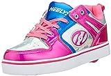 Heelys Women's Motion 2.0 HE100587 Trainers, Multicolour Pink/Silver/Aqua, 3 (35 EU)