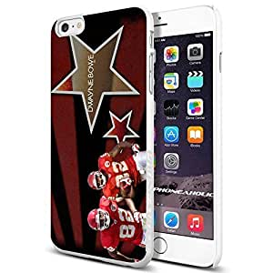 Zheng caseZheng caseNFL Kansas City Chiefs DWAYNE BOWE , , Cool iPhone 4/4s (6+ , ) Smartphone Case Cover Collector iphone TPU Rubber Case White [By PhoneAholic]