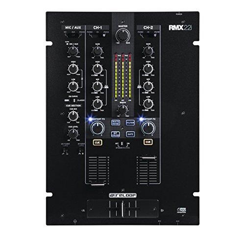 Reloop RMX-22i – Mezclador para DJ (20-20000 Hz, 3.5 mm/6.35 mm)