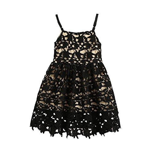 [belababy Toddler Girls Dresses Crochet Lace Tutu for 1-6T] (Tutu For Toddler)