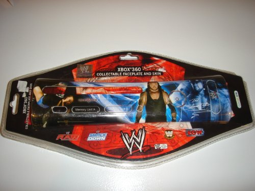 Xbox 360 The Undertaker WWE Collectable Faceplate and Skin