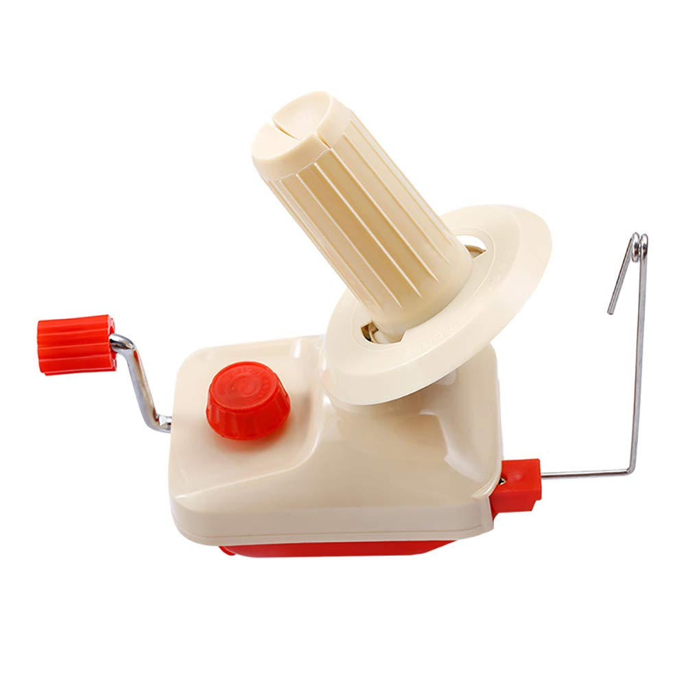 Yarn Ball Winder, Operated by Hand Mini Craft Knitting Tools Household Little Machine Winding Lines Fixed Firmly for Sewing Scarves Sweater Cloth Strings by ARTSTORE