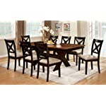 Furniture of America Harvest Dining Table, Brown