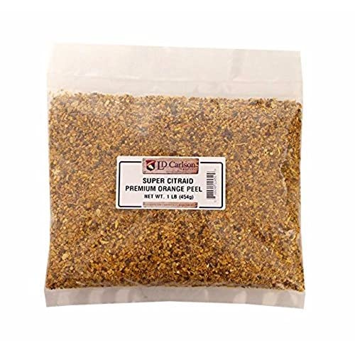 Brewer's Best 1 lb Super Citraid Premium Bulk Dried Citrus Peel For Beer and Wine Making, Multicolor