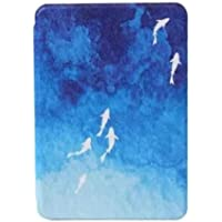 Niveken All New Kindle Paperwhite 4 Waterproof Fabric Cover 10th Generation 2018 Released (blue fish )
