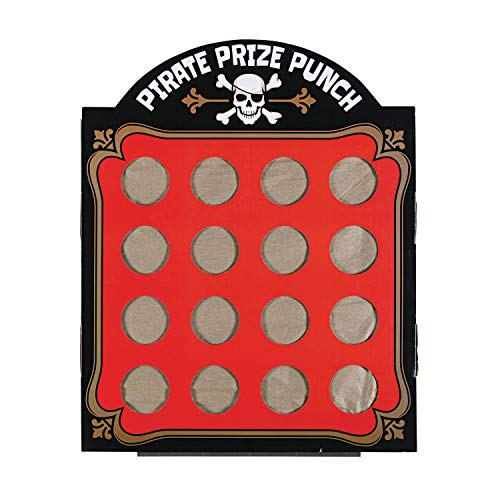 (Pirate Prize Punch Game 16 Hole)