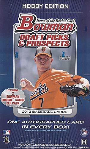 2012 Bowman Draft Picks and Prospects Baseball Hobby Box