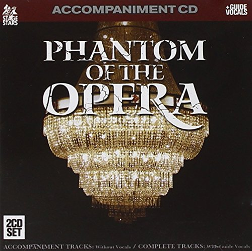 Phantom Of The Opera Karaoke Cd - Sing Phantom Of The Opera (Accompaniment 2-CD Set)
