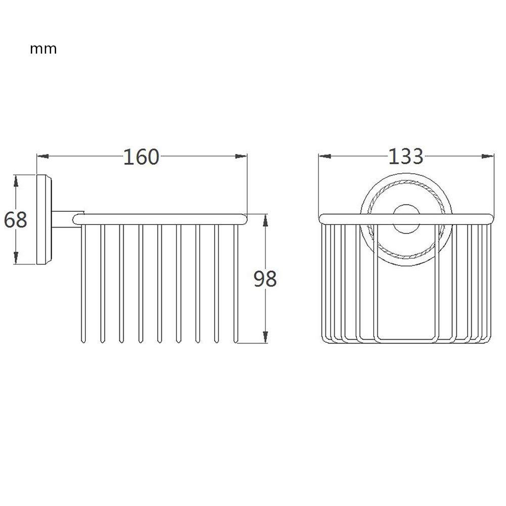 BOATX Antik Schwarz Doppel-Handtuchstange Bad Handtuchhalter Badetuchhalter Badetuchstange,aus Messing fur Badezimmer,zum Wandhalterung Bohren,L57cm