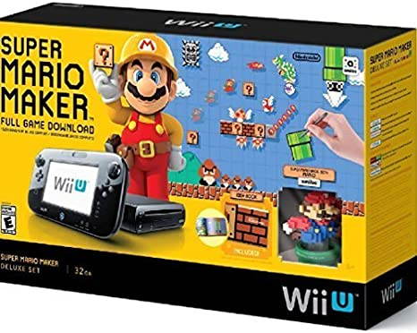 Nintendo WUPSKAGT Wii U Super Mario Maker Console Deluxe Set (Refurbished) by Nintendo: Amazon.es: Videojuegos