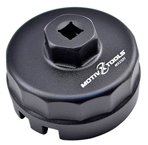 Motivx Tools Toyota Oil Filter Wrench for 1.8 Liter Prius, Prius V, Corolla, Matrix, Lexus CT200h, Scion iM, iQ & xD