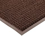 Notrax 138 Uptown Entrance Mat, for Upscale Entrances, 4' Width x 8' Length x 3/8'' Thickness, Brown