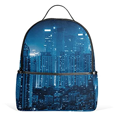 d54ea812b0e0 good JSTEL Ity Skyline 3D Abstract School Backpack 4th 5th 6th Grade for Boys  Teen Girls