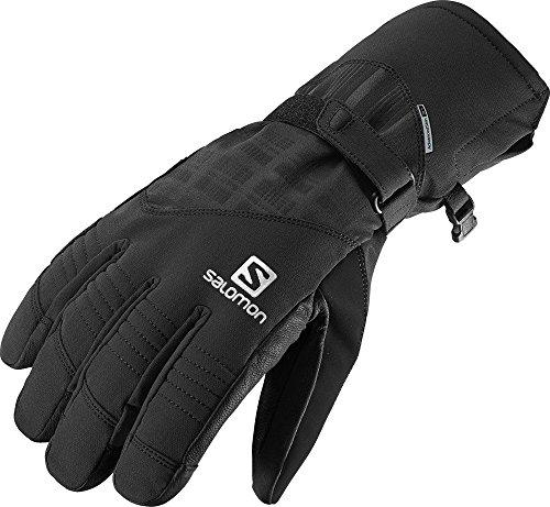 Salomon Men's Propeller Dry Gloves, Black, X-Large (Salomon Gloves Ski)