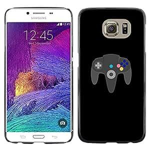 Stuss Case / Funda Carcasa protectora - JUEGO PARA SIEMPRE N64 - Samsung Galaxy S6