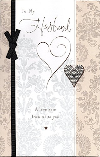 Happy Anniversary Card to my Husband a love note from me to you