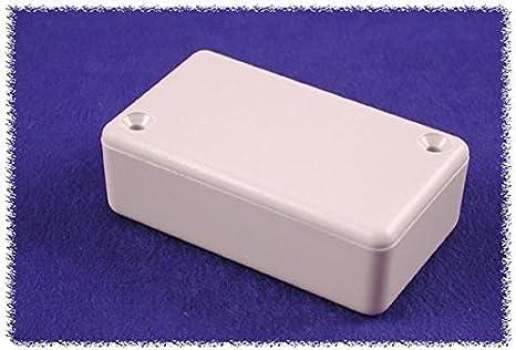 Hammond 1551NBK Black ABS Plastic Project Box -- Inches (1.38' x 1.38' x 0.59') mm (35mm x 35mm x 15mm) Hammond Manufacturing