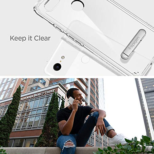 more photos 58dcd 65c5a Spigen Ultra Hybrid S Designed for Google Pixel 3 XL Case (2018) - Crystal  Clear