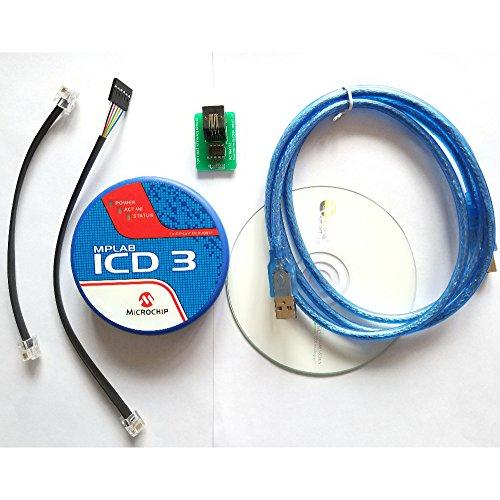 MPLAB ICD 3 In-Circuit Emulator Debugger Programmer Development tool for PIC MCU 40-pin ZIF Socket 40 Pin Ide Flash Module
