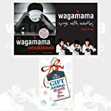 Hugo Arnold Wagamama 2 Books Collection with GiftJournal (Wagamama Cookbook and DVD & Wagamama: Ways With Noodles)