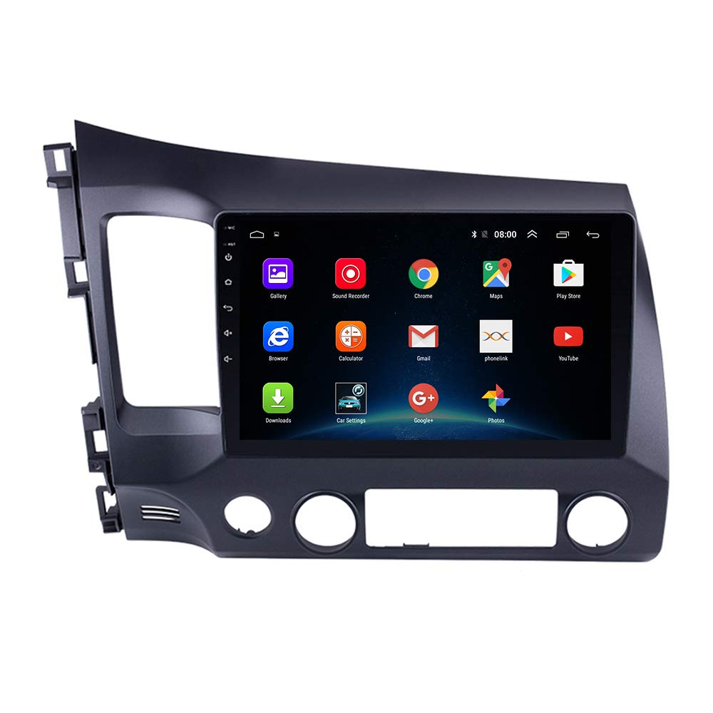 Civic 2006-2011 Android 9.1 2+32G Civic 2006-2011 2.5D IPS Car Radio GPS Navi Android 9.1 Touch Screen for Head Unit Stereo Multimedia Player with Bluetooth WiFi Navigation