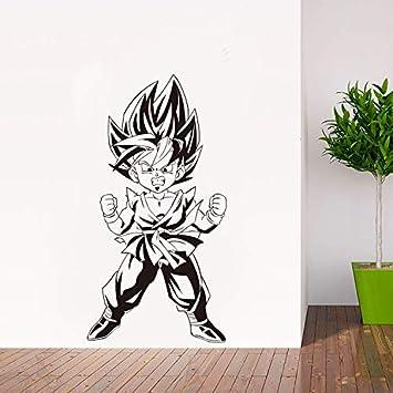 Anime japonés de dibujos animados Dragon Ball Z Goku Tatuajes de ...