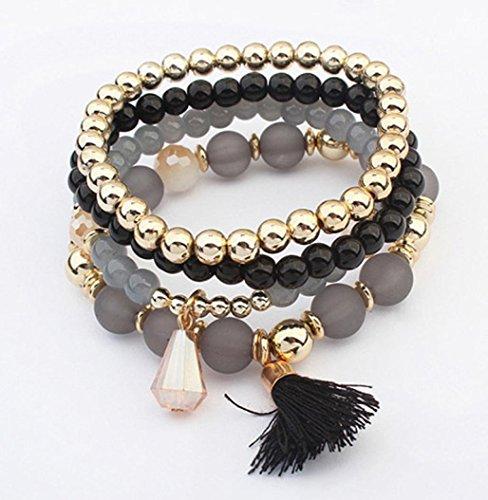 Creazy Women Multilayer Bangle Bracelets