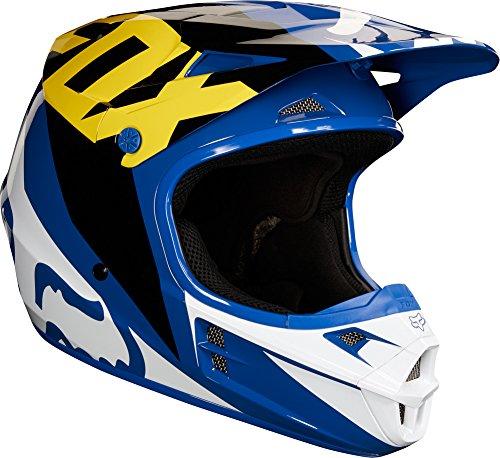 Fox Racing 2018 V1 Helmet - Race (SMALL) (Fox V1 Race Helmet)