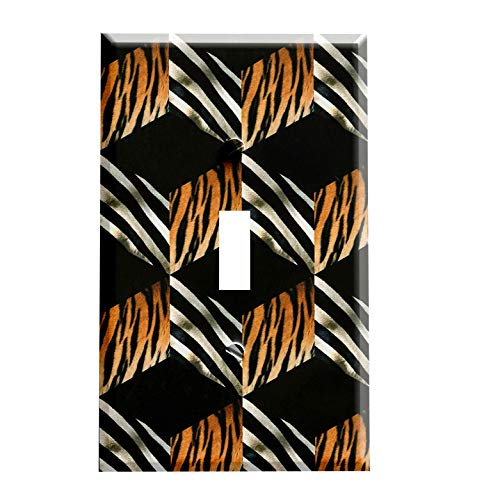 Abstract Safari Print Switchplate - Switch Plate ()