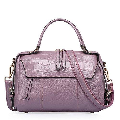 GUANGMING77 _Handtasche Crossbody-Tasche Und Laptop Taro color