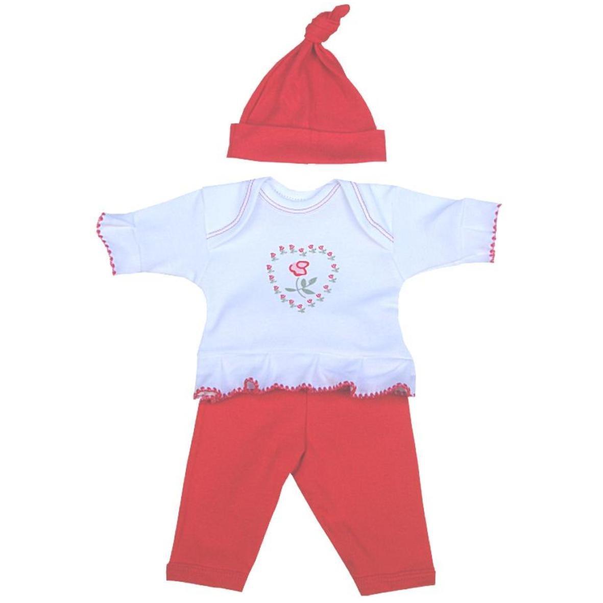 BabyPrem Fr/ühchen Baby Langarm T Shirt M/ütze /& Hosen Set Kleidung 32-50cm