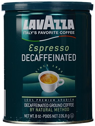 LAVAZZA ESPRESSO DECAFFEINATED 8oz