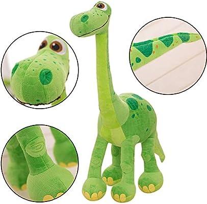 Verde WENTS Juguete de Dinosaurio Relleno Peluche Animal de Peluche Lovely Soft PP Algod/ón Juguete de Peluche Fiesta en Casa Regalo para Ni/ños 30 Cent/ímetro