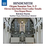 Hindemith: Two Pieces For Organ [Kirsten Sturm] [Naxos: 8.573194] by Kirsten Sturm (2014-08-25)