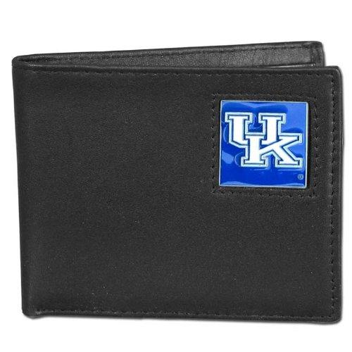 Wildcats College Leather (NCAA Kentucky Wildcats Leather Bi-fold Wallet)