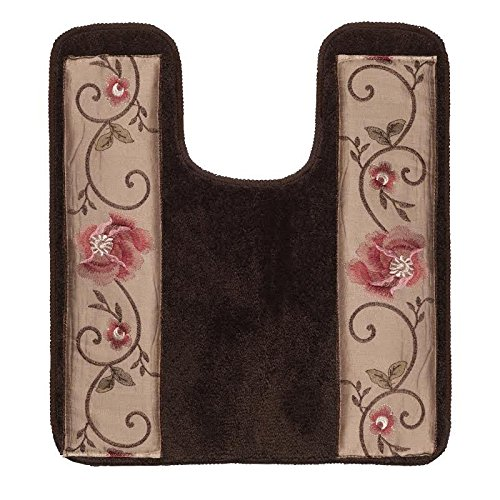 Popular Bath Contour Bath Rug, Larissa Collection, 23