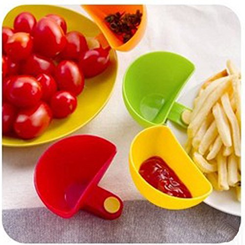 Dip Clip Clip On Chip & Dip Bowl Party Ware