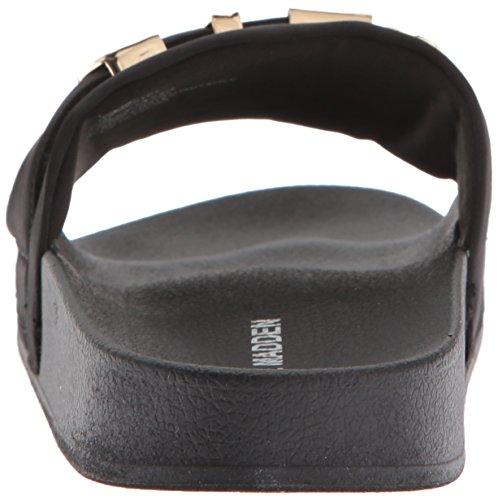 Word Multi Madden Women's Sandal Slide Black Steve az40xqZgwa