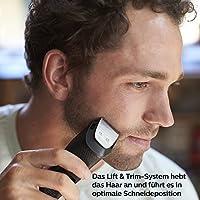 Recortadora de barba Philips Serie 3000, 20 longitudes de corte ...