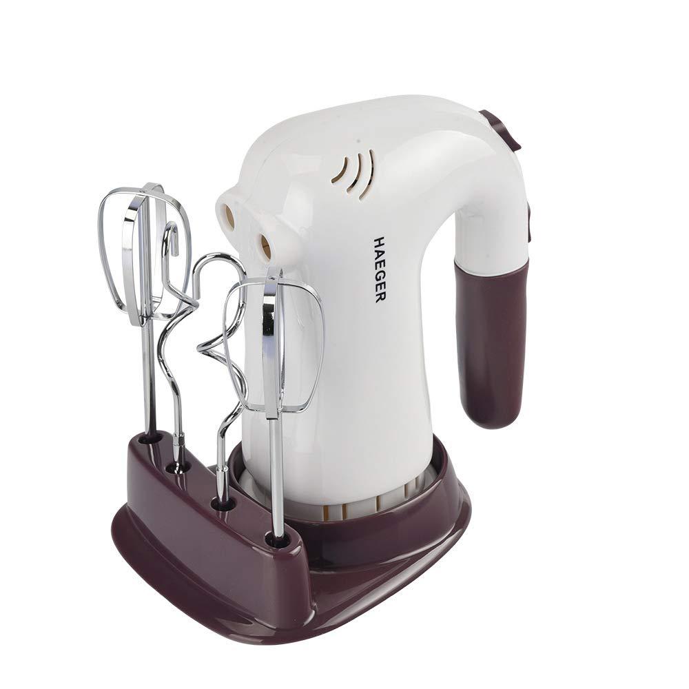 ZUEN Stainless Steel Egg Beater Handheld Blender Mixer Electric Whisk Household Cream Egg Mixer Kitchen Baking Tool