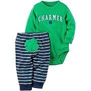 Carter's Baby Boys' 2 Pc Sets 119g169, Green, NB
