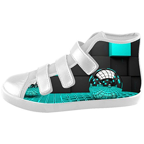 Scarpe Shoes Scarpe Canvas Custom Scarpe Le stereoscopica Stampa Le Kids 3D Le UwXXzqO
