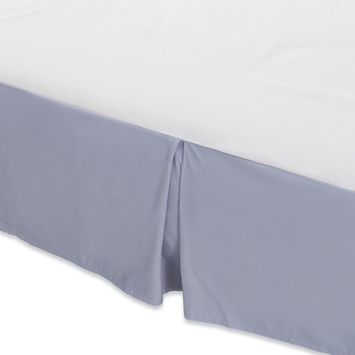 Waga Bed Skirt - Lilac Blue, Queen (60'' x 80'')