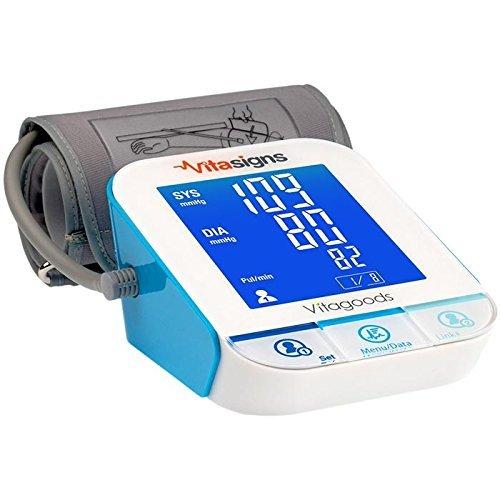Vitasigns by Vitagoods Bluetooth Desktop Blood Pressure Moni