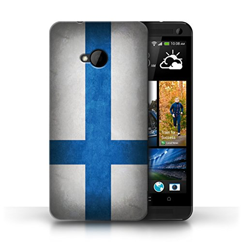 Etui / Coque pour HTC One/1 M7 / Finlande/finlandais conception / Collection de Drapeau