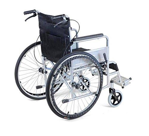 Comfy go lightweight manual handbrake portable medical Portable motorized wheelchair