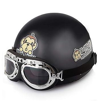 Amazon.com: Laleo - Casco de moto con gafas de sol y mono de ...
