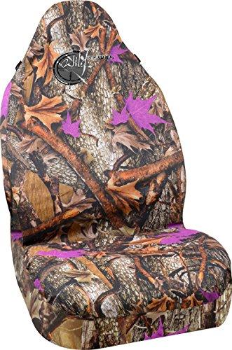 purple camo seat covers - 1