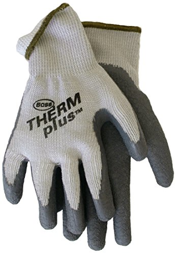 String Knit Plus Gloves - Boss Gloves 8435S Small Mens Therm Plus String Knit Gloves